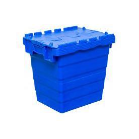 Пластмассовый ящик с крышкой 400х300х365